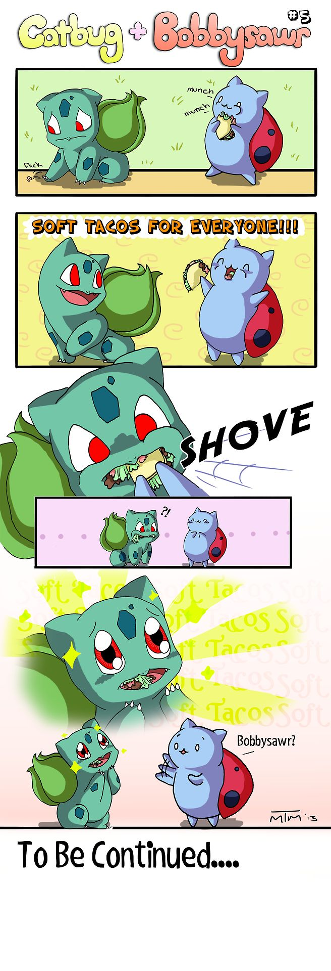 Catbug And Bulbasaur 5
