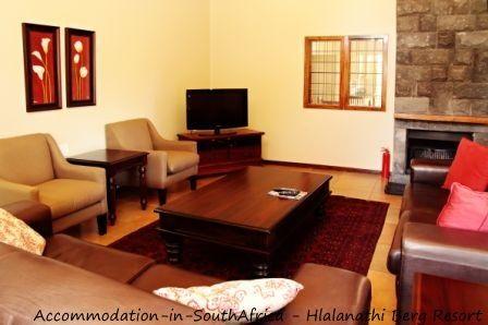 Sitting room at Hlalanathi Berg Resort. http://www.accommodation-in-southafrica.co.za/KwaZuluNatal/Bergville/Hlalanathi.aspx