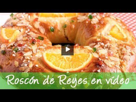 Roscón de Reyes. Receta de roscón de reyes casero paso a paso  Pinterest   https://pinterest.com/elcocinillas/