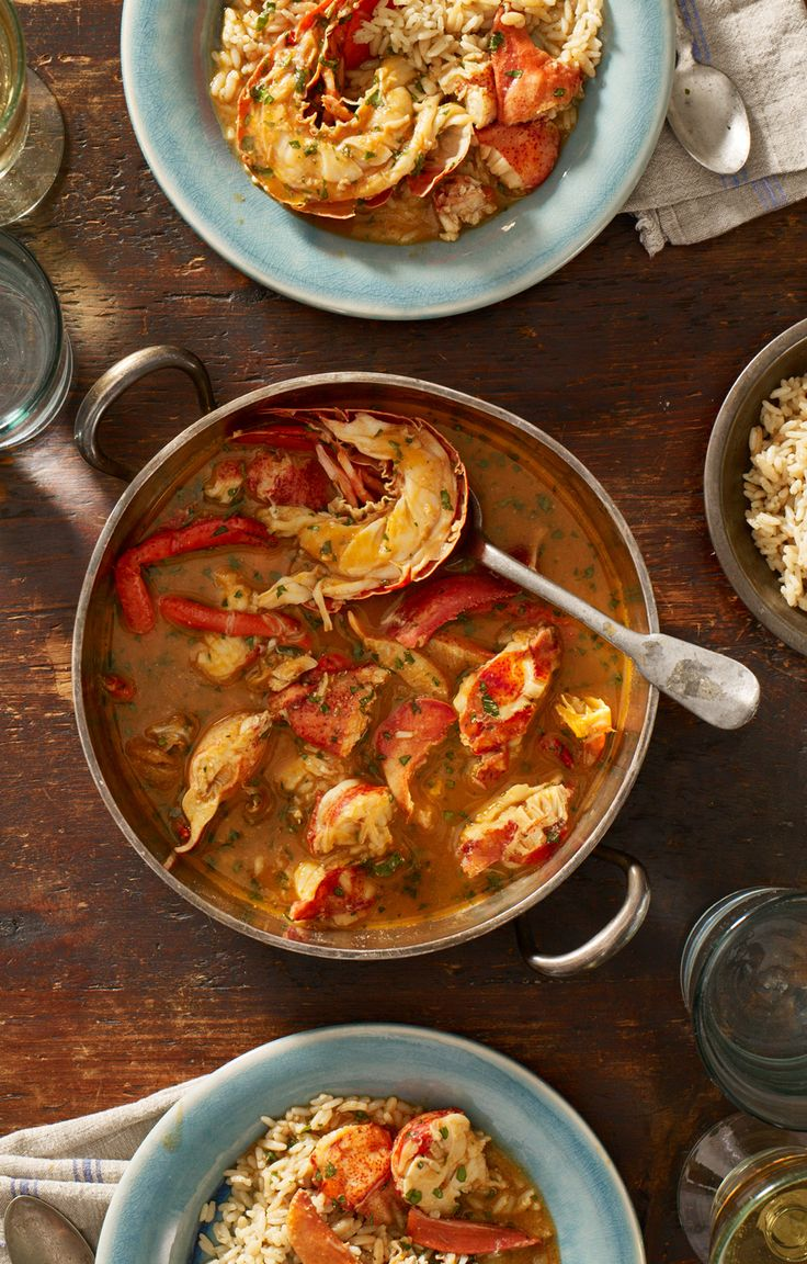 226 best Entrees | Maine Lobster Recipes images on Pinterest | Seafood recipes, Seafood rice ...