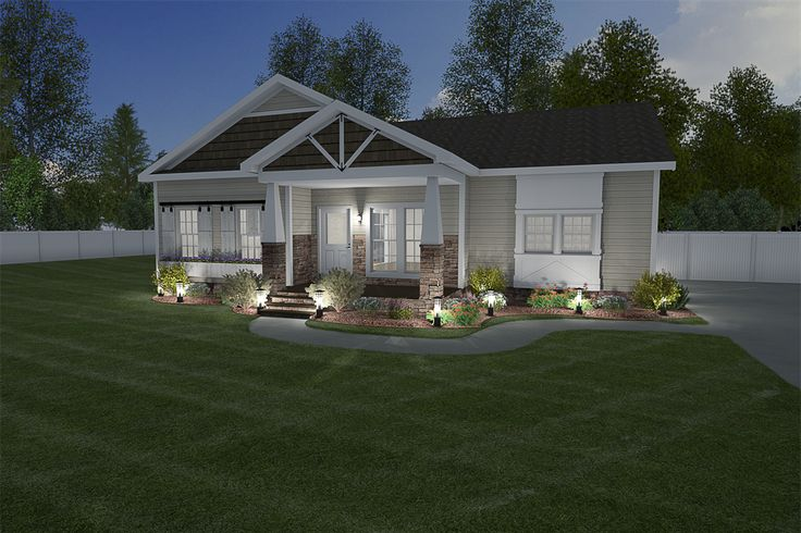 Clayton Homes of Mobile manufactured or modular house details for THE NEW BERRY IMP-9301 home.