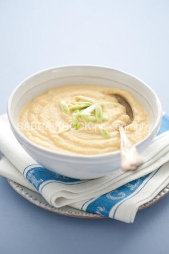 Creamy Roasted Garlic And Cauliflower Soup Recipes — Dishmaps