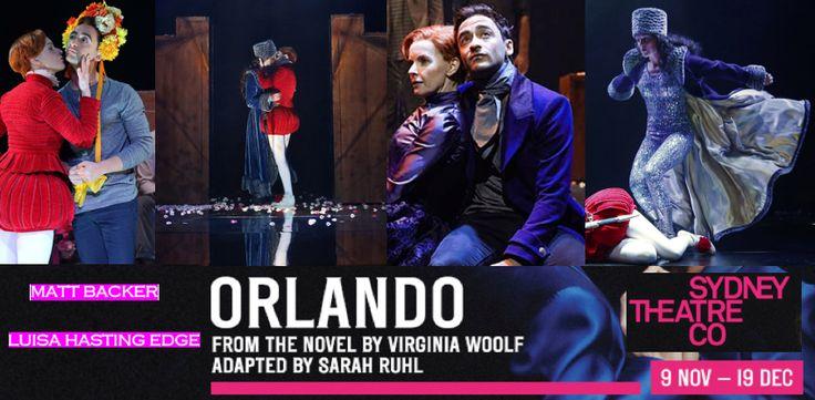 Sydney Theatre Company presents ORLANDO (Sydney Opera House)