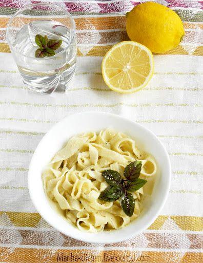 receptishi: Домашняя паста с лимонным соусом от Джейми Оливера