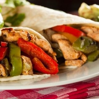 Easy Healthy Chicken Fajitas for Weight Watchers 1 FP
