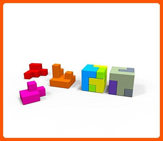 Brain Teaser 3D Jigsaw Puzzle Lando Cubes Set Game for Kids and Teens - Fun stuff and gift ideas (*Amazon Partner-Link)