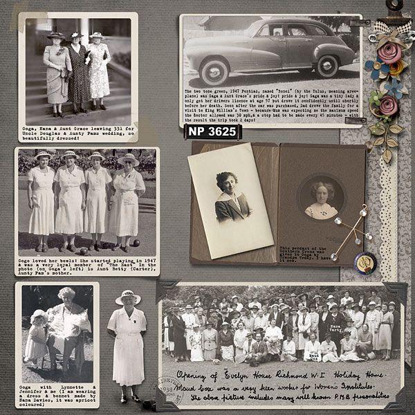 heritage photo album ideas - Top 25 ideas about Genealogy Scrapbooking Ideas on