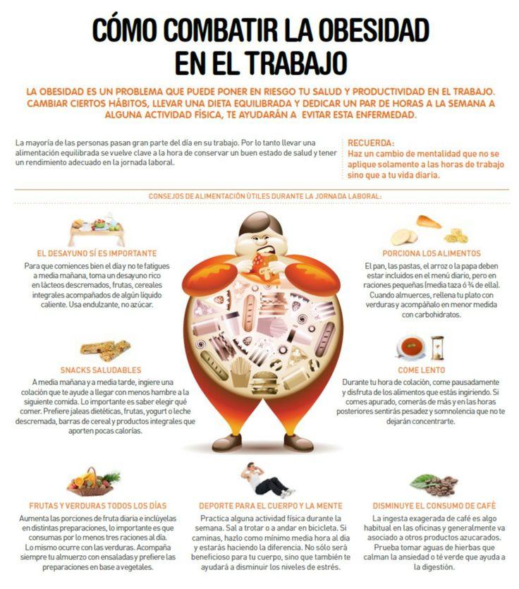 Como combatir la obesidad en el trabajo consejos para