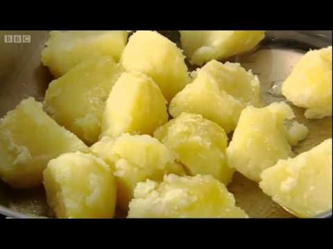 Heston Blumenthal uses his advanced cooking knowledge to show us how to cook the perfect roast potatoes. Great recipe video from the Michelin star chef's cookery show In Search of Perfection.