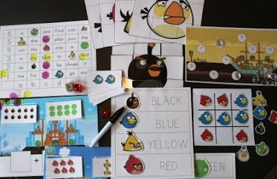 The Activity Mom: Free Angry Birds Printables. She has lots of other