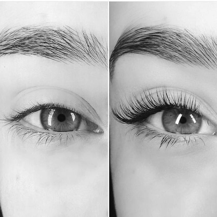 Eyelash extensions are not intended to give volume to your lashes but they do extend the length of the lash and eliminate the need for mascara! Call today to schedule your lash appointment! 585-444-EYES #Lashes #EnvisionROC