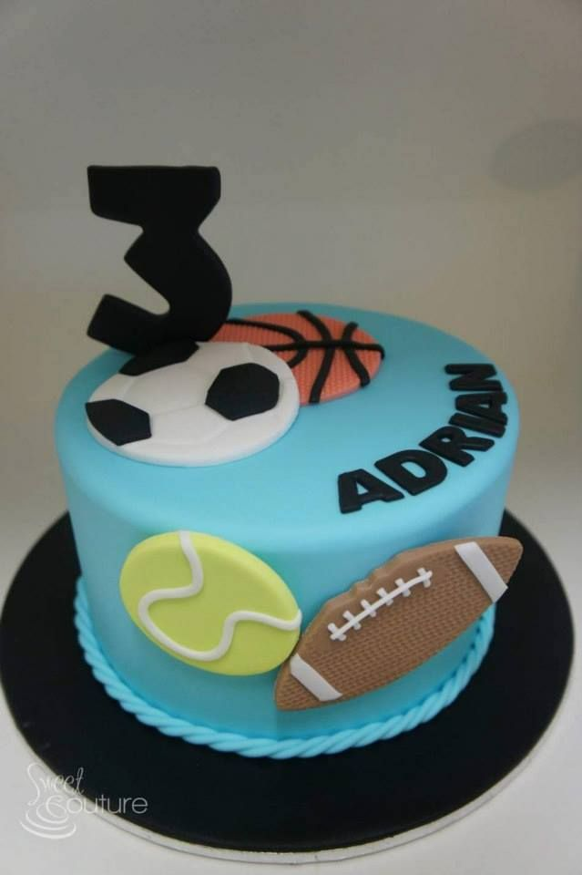 1000+ ideas about Sports Birthday Cakes on Pinterest ...