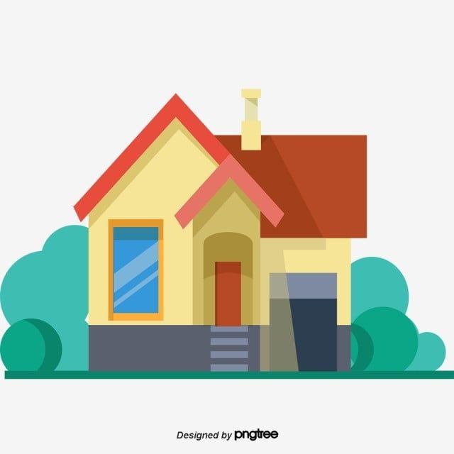 House Building Cartoon Building Vector House Cartoon Vector House Vector Cartoon House Architecture House Logo Cartoon House Cartoon Building House Vector