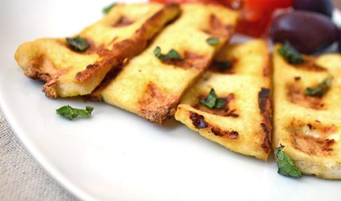 Vegan Tofu Halloumi ......om nom nom