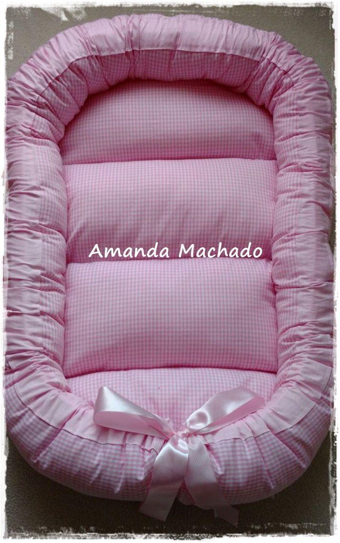 Ninho redutor de berço para bebês!    O ninho foi desenvolvido pensando no acolhimento do bebê ao sair do conforto e aconchego da barriga da mãe.    Arremete ao conforto, passa sensação de segurança ao bebê, o que garante um sono tranquilo desde os primeiros dias de vida.    O ninho é produzido e...