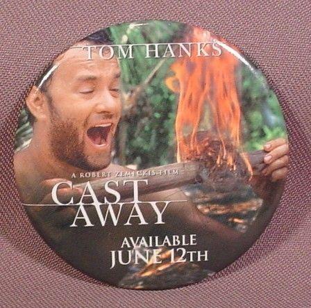 Cast Away, Tom Hanks, Castaway, Movie Dvd