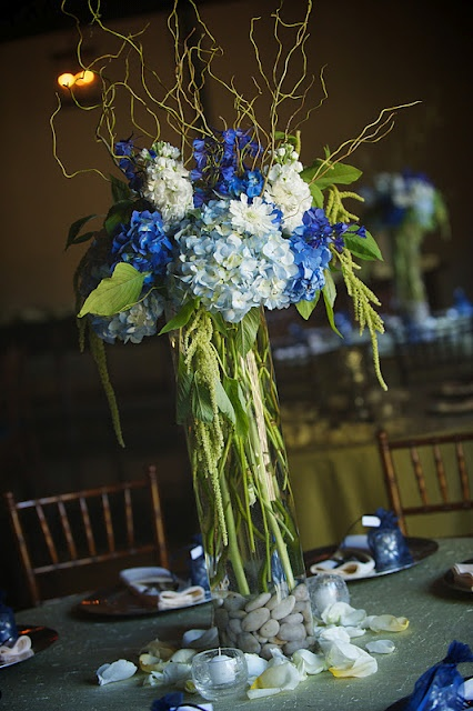 41 Best Images About Blue White Cream Green Wedding On