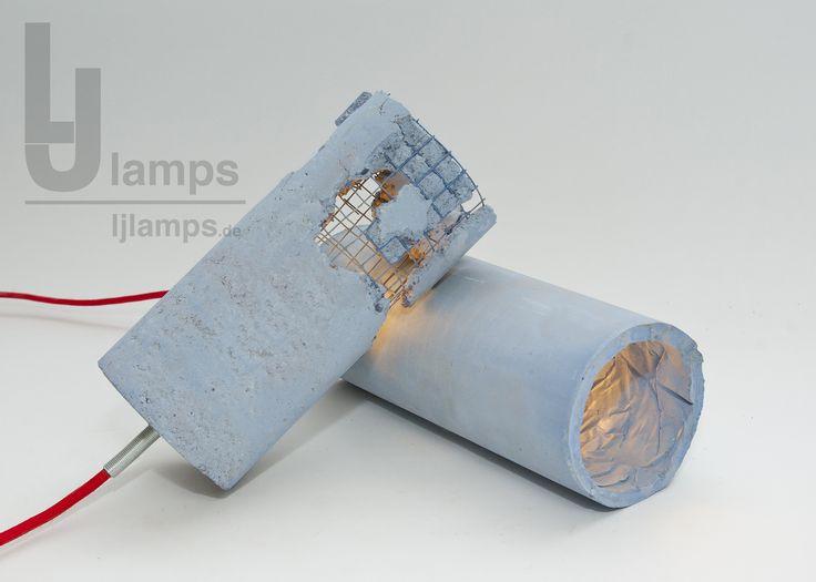 1000 images about beton lampe ljlamps leuchte design. Black Bedroom Furniture Sets. Home Design Ideas