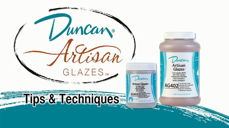 Duncan Artisan Glazes Tips and Techniques