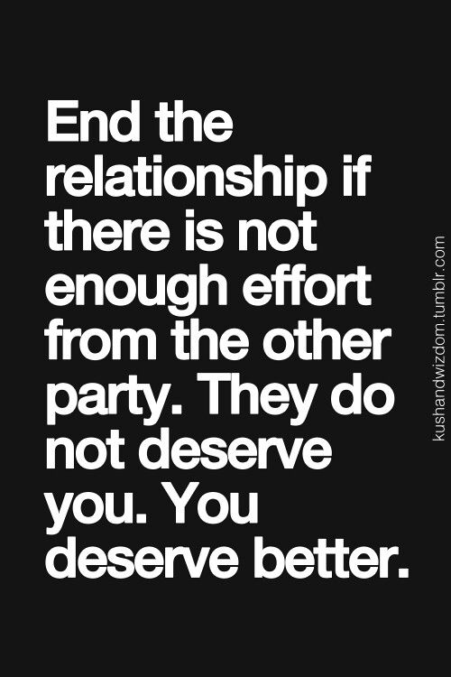 .I think this goes for any relationship. I think it's important to open your mind to as many people as you can, but not to waste time on those who only think of themselves.
