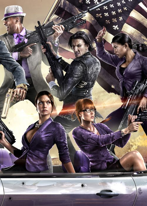 Saints Row 4 has been officially announced by Volition and new publisher Deep Silver.   #saintsrow  #thirdstreetsaints  #kurttasche