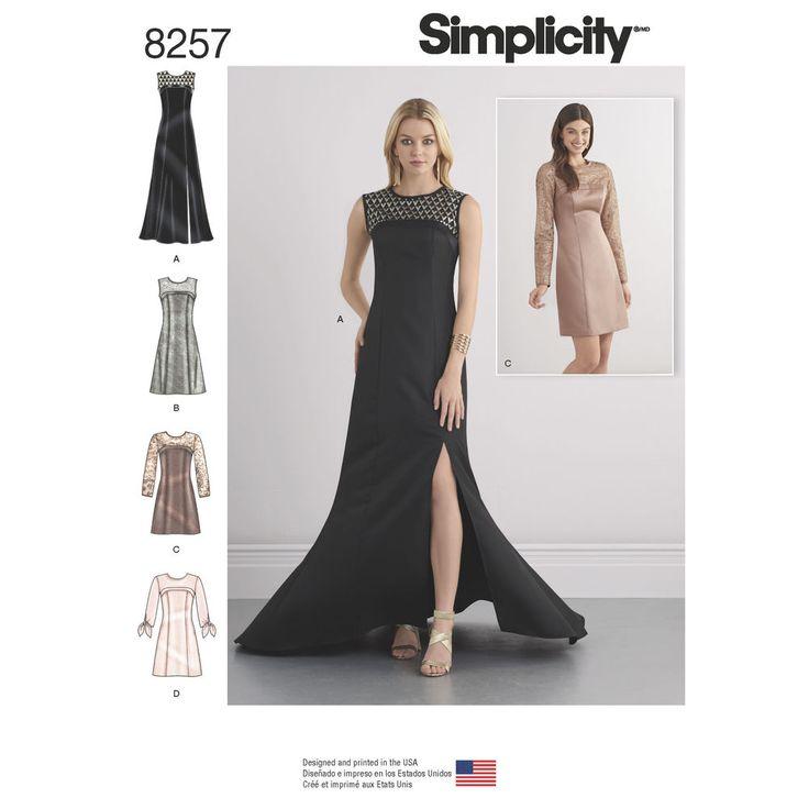Evening Dress Patterns Uk Free Plus Size Dresses