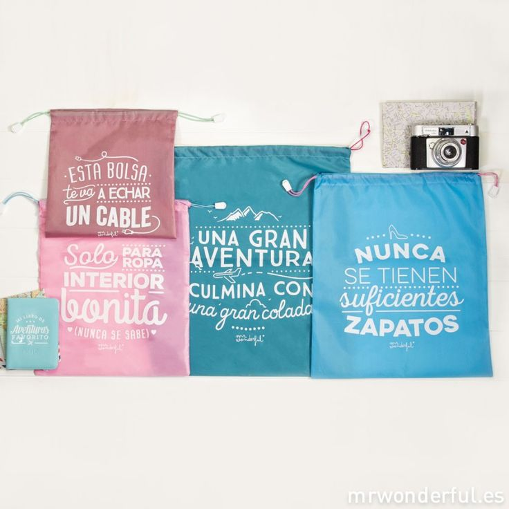 Bolsas de viaje Wonder - Pack de 4 ud.