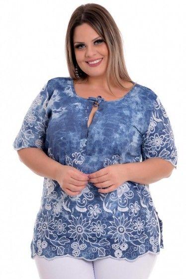 Blusa Plus Size Manu