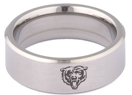 Chicago Bears Wedding Band