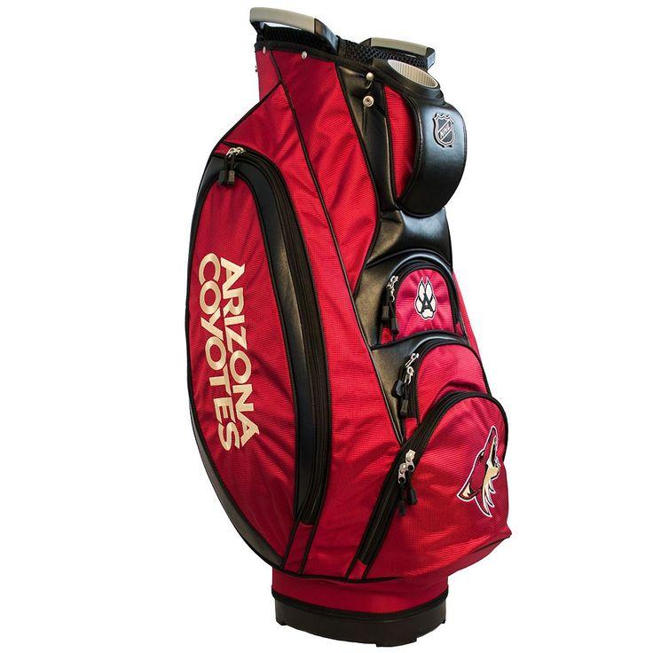 Team Golf Arizona Coyotes Victory Golf Cart Bag, Multicolor