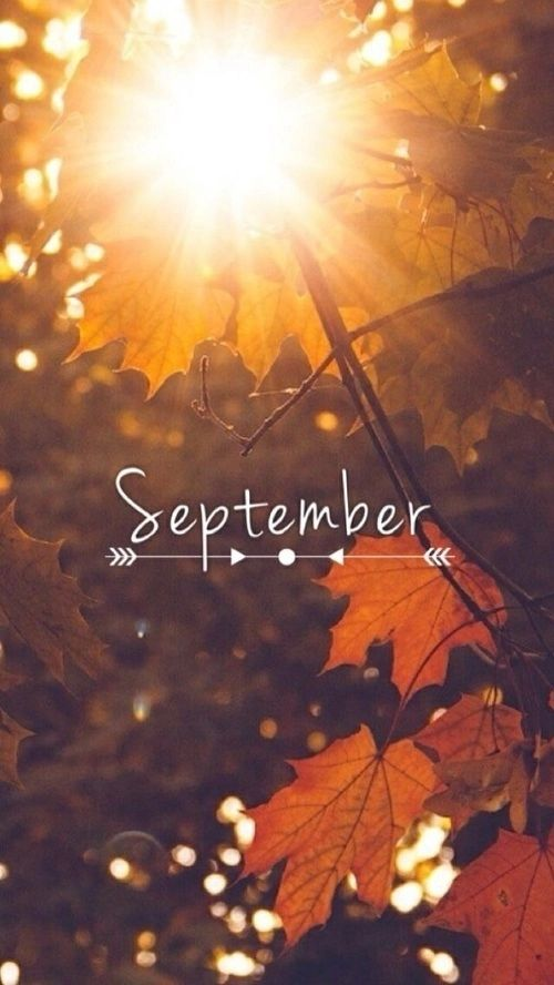 "I'm so glad I live in a world where there are Octobers."" — Happy first day of September everyone"