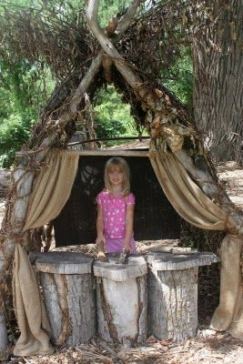 "Outdoor puppet theatre ("",)"