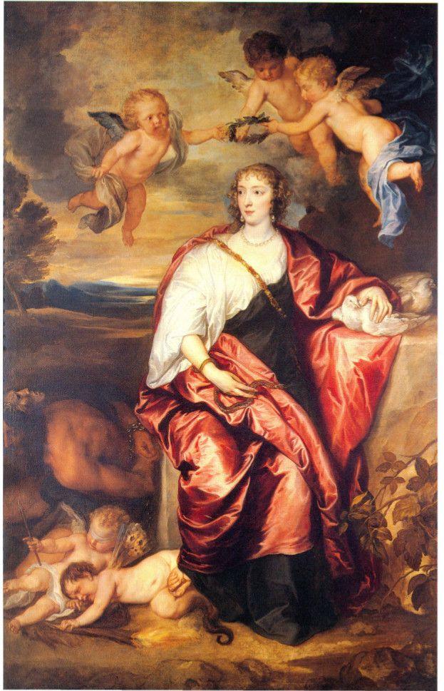Palazzo Reale, Anton Van Dyck, Ritratto di Lady Venetia Digby come allegoria della Prudenza,  1633-34