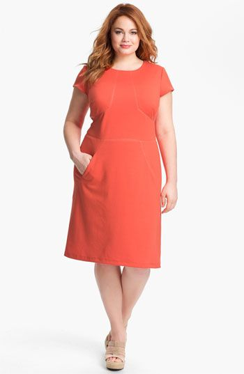 We welcome every plus-size professional woman who wants to build a closet of modern, elegant and well fitting work wear and invite you to visit www.executive-image-consulting.com for more information. Donna Ricco Shift Dress (Plus) available at Nordstrom