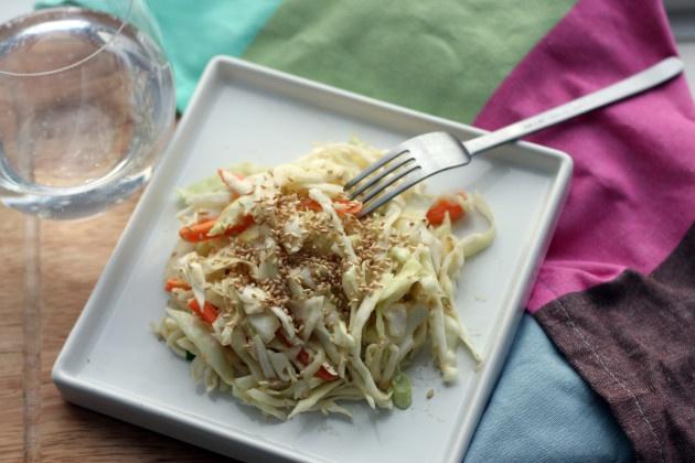 Miso Cabbage Slaw | Easy Recipes | Pinterest