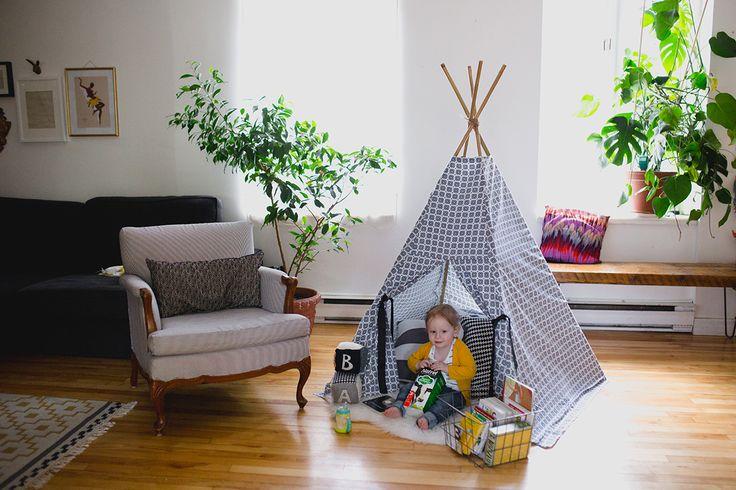 Camping intérieur pour jours de pluie | Natrel
