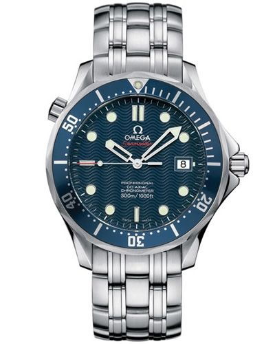 The Omega Seamaster Professional Diver has been worn by Daniel Craig in his first Bond movie Casino Royale