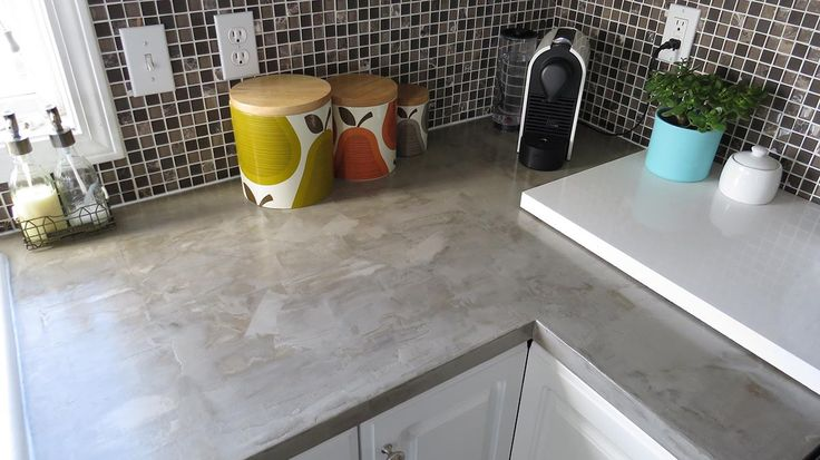 There are two ways to DIY concrete countertops: pouring your own slabs and completely replacing your existing countertops, or using a concrete overlay on top of your existing countertops.  The huge…