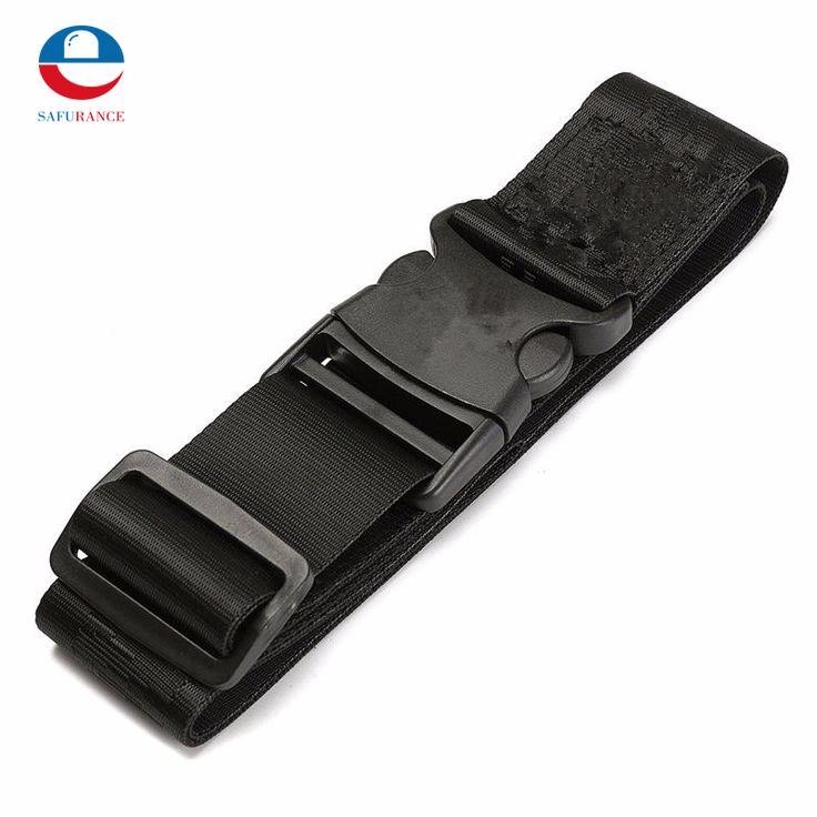 Durable Quality Men Canvas And Nylon Adjustable SWAT Security Belt With Quick Release Buckle Black Free Shipping #Affiliate