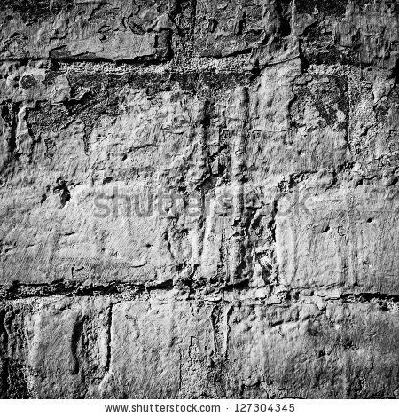 stock photo : black and white artistic wall texture pattern $15