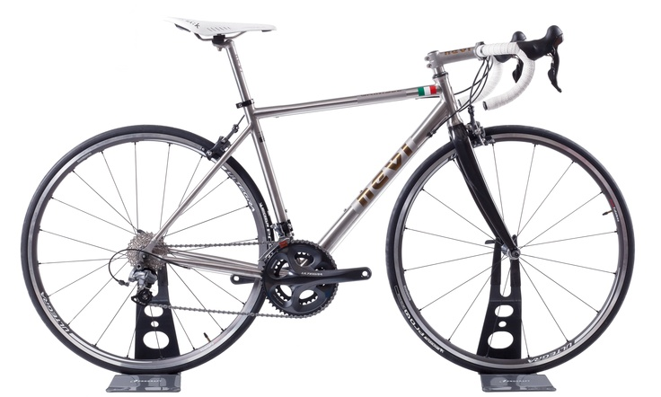 Titanium Grimsel road frame, real made in Italy