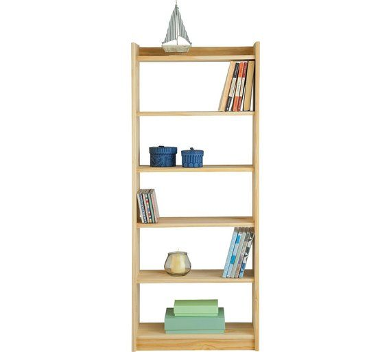 Buy HOME Unfinished 6 Shelf Storage Unit - Solid Unfinished Pine at Argos.co.uk, visit Argos.co.uk to shop online for Bookcases and shelving units, Living room furniture, Home and garden