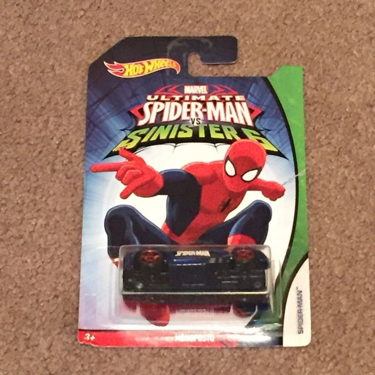 Hot Wheels Marvel Ultimate Spider-Man vs Sinister 6 SPIDER-MAN MONOPOSTO (New)  #HotWheels #Custom