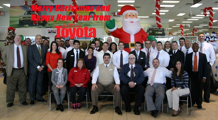 Red McCombs Toyota's Christmas Card!  http://redmccombstoyota.com/