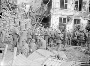 THE BATTLE OF PASSCHENDAELE, JULY-NOVEMBER 1917 (Q 2848)
