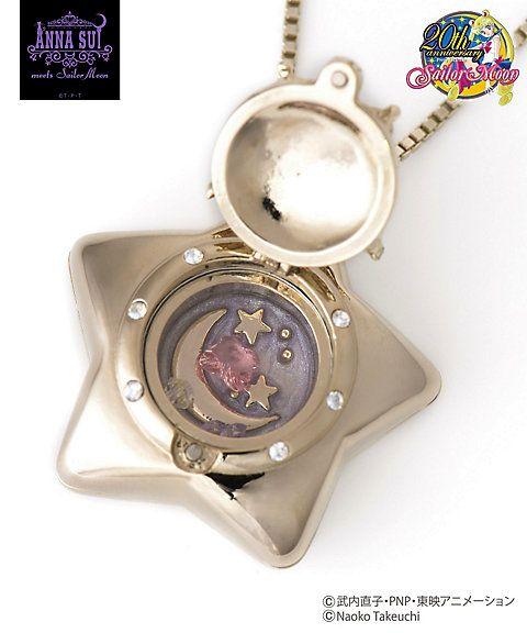 """sailor moon"" ""anna sui"" ""sailor moon merchandise"" ""sailor moon collaboration"" ""sailor moon toys"" ""sailor moon purse"" ""sailor moon bag"" ""sailor moon jewelry"" ""star locket"" handbag wallet purse necklace brooch bracelet fashion anime japan shop 2016 isetan"