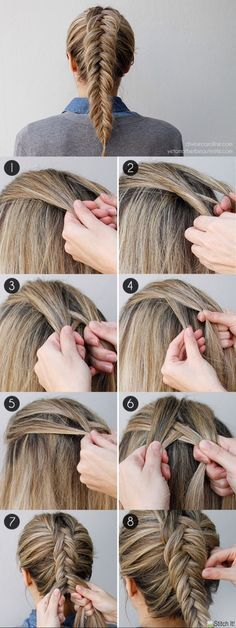 How to Get an Inverted Fishtail Braid That's Sure to Impress