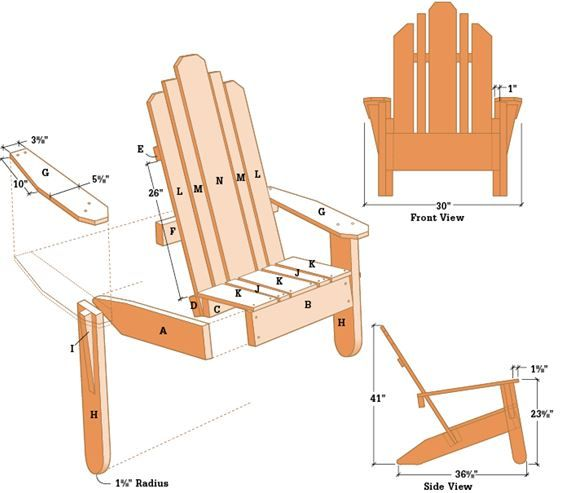 Adirondak Chair table  DIY  Adirondack chair plans