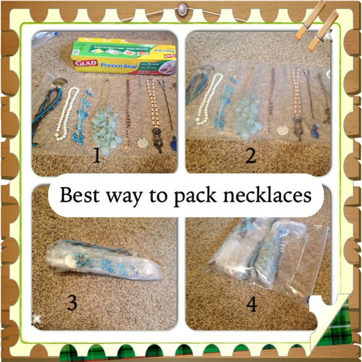 the 25 best packing necklaces ideas on pinterest cheap moving trucks easy ways to pack for. Black Bedroom Furniture Sets. Home Design Ideas