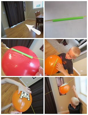 My 6th graders had rocket baloon races and observed those aspects that seemed to influence their speed...Air powered rockets - fun and educational!